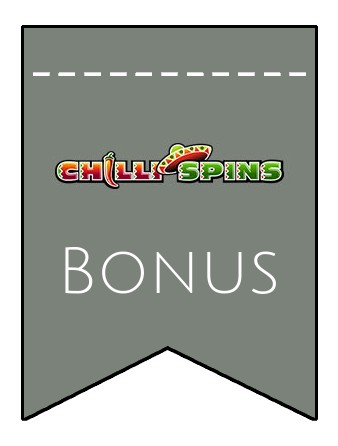 Latest bonus spins from Chilli Spins