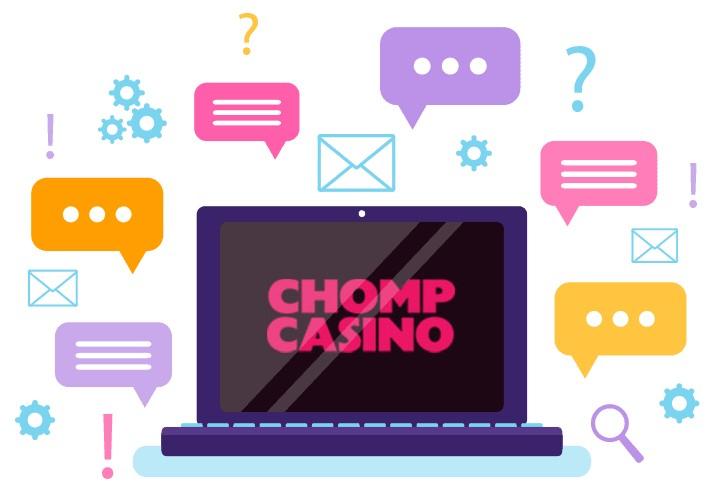 Chomp Casino - Support
