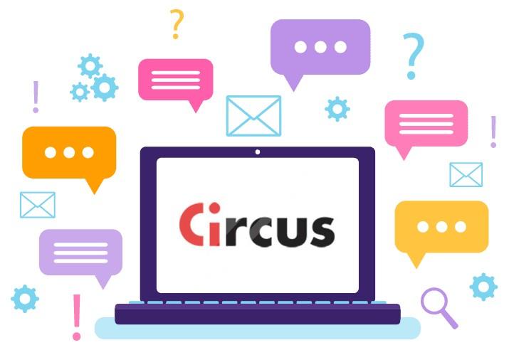 Circus Casino - Support