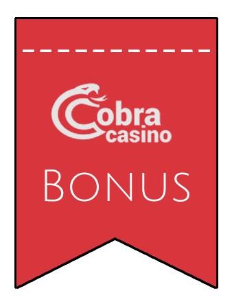 Latest bonus spins from Cobra Casino