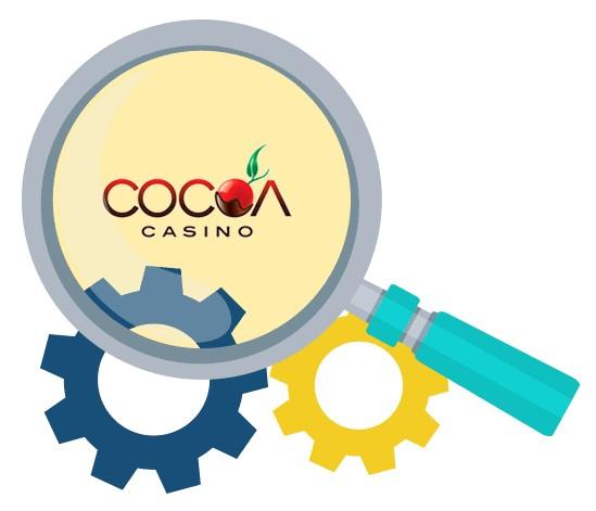 Cocoa Casino - Software