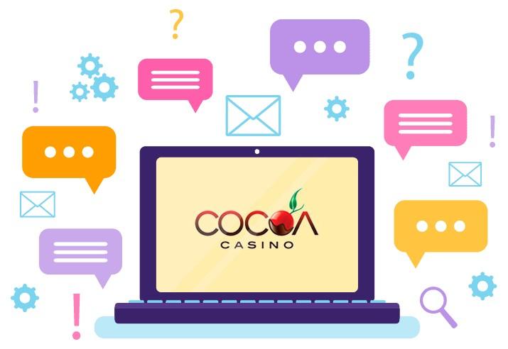 Cocoa Casino - Support