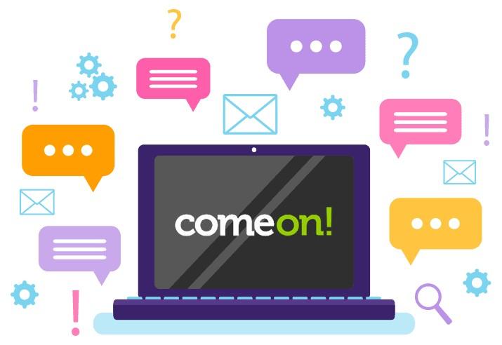 Comeon Casino - Support