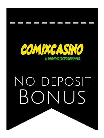 Comix Casino - no deposit bonus CR