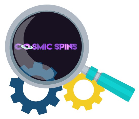 Cosmic Spins Casino - Software