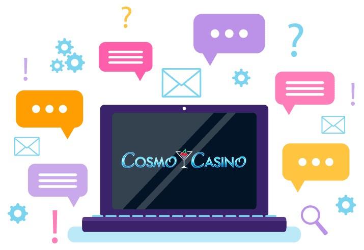 Cosmo Casino - Support