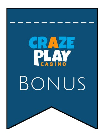 Latest bonus spins from CrazePlay