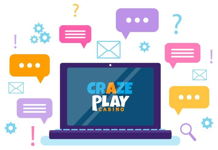 CrazePlay - Support