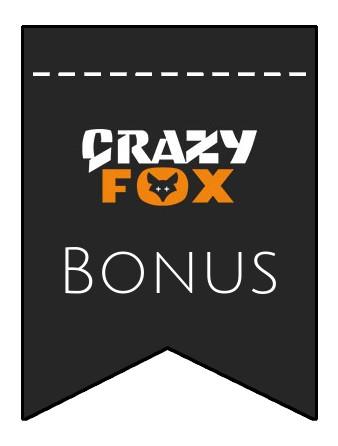 Latest bonus spins from Crazy Fox