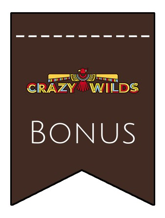 Latest bonus spins from Crazy Wilds