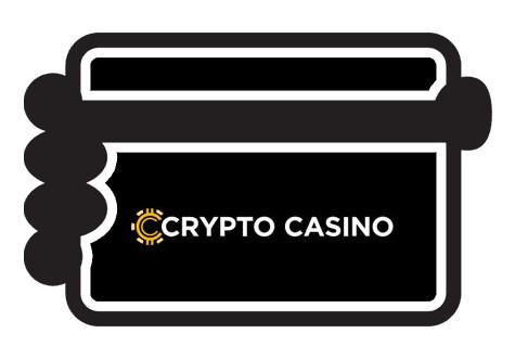 CryptoCasino - Banking casino