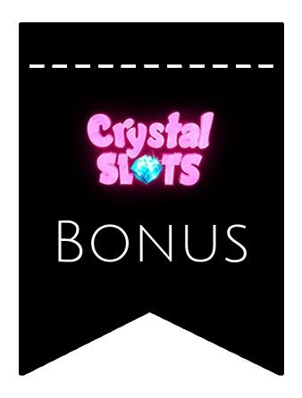 Latest bonus spins from Crystal Slots