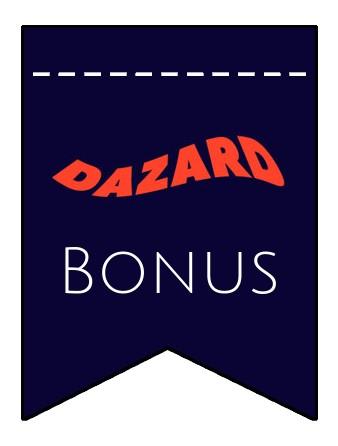 Latest bonus spins from Dazard