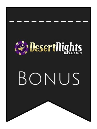 Latest bonus spins from Desert Nights Casino