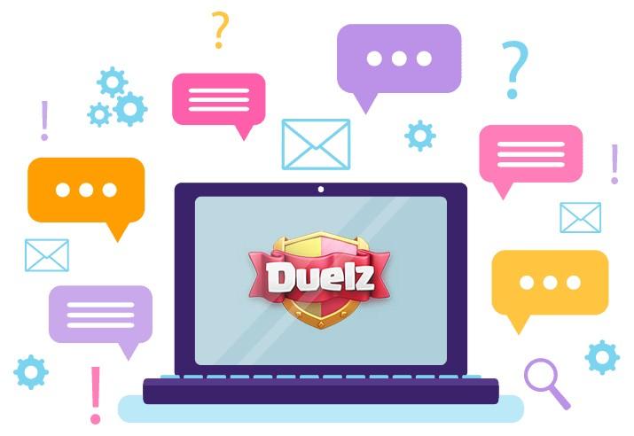 Duelz Casino - Support