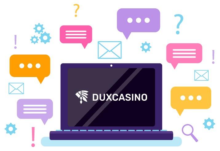 Duxcasino - Support