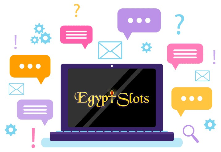 Egypt Slots Casino - Support