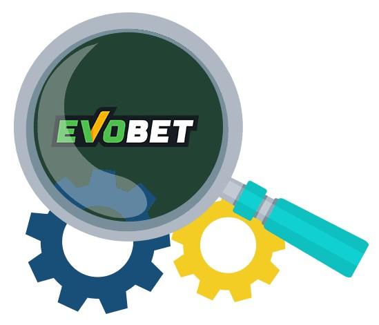 Evobet Casino - Software