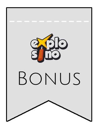 Latest bonus spins from Explosino
