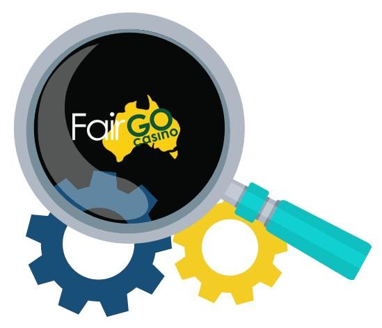 Fair Go Casino - Software