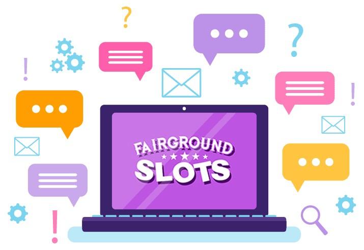 Fairground Slots - Support