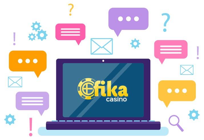 Fika Casino - Support