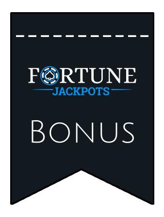 Latest bonus spins from Fortune Jackpots Casino
