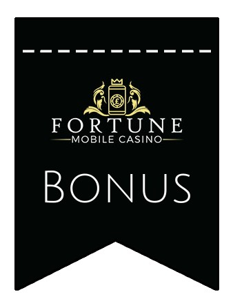 Latest bonus spins from Fortune Mobile Casino