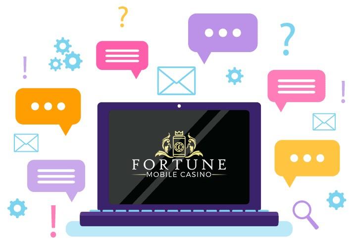 Fortune Mobile Casino - Support