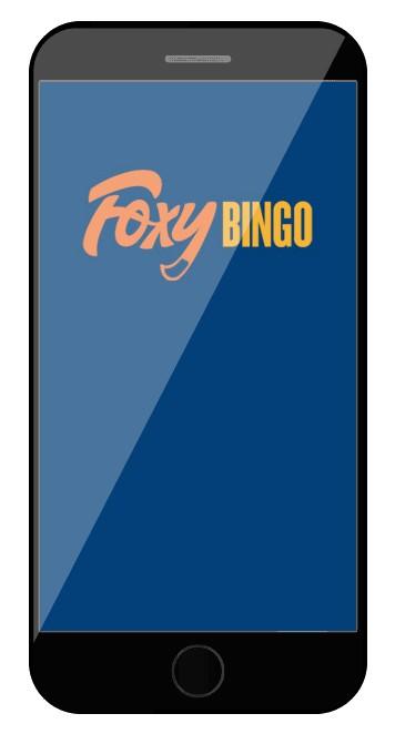 Foxy Bingo - Mobile friendly