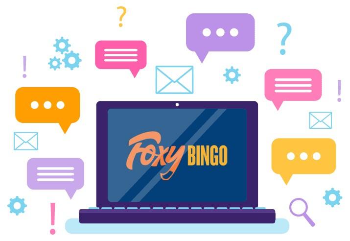 Foxy Bingo - Support