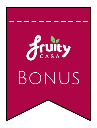 Latest bonus spins from Fruity Casa Casino