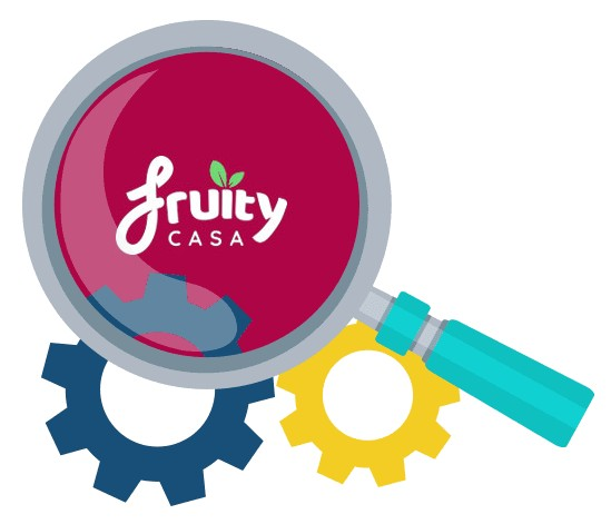 Fruity Casa Casino - Software