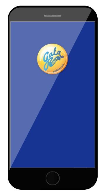 Gala Bingo - Mobile friendly