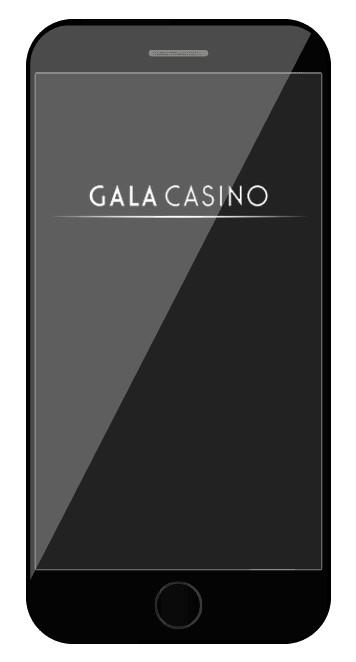Gala Casino - Mobile friendly