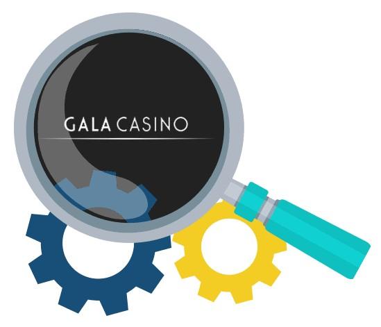 Gala Casino - Software