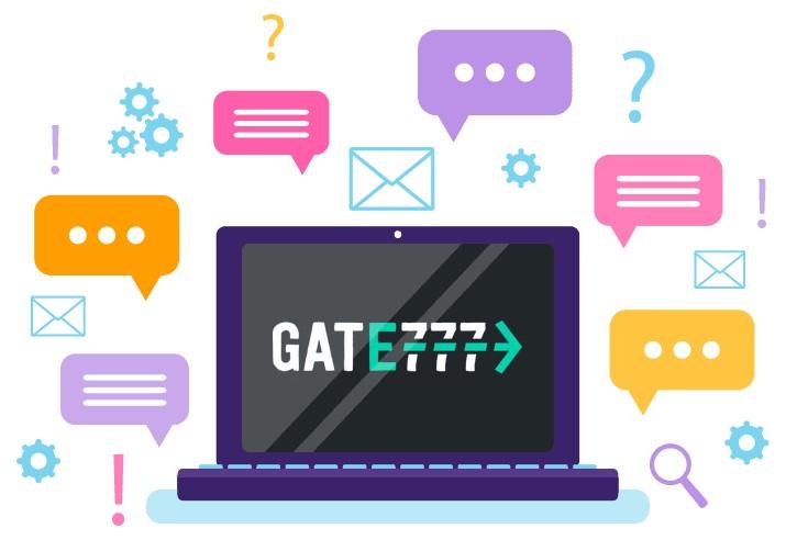 Gate777 Casino - Support