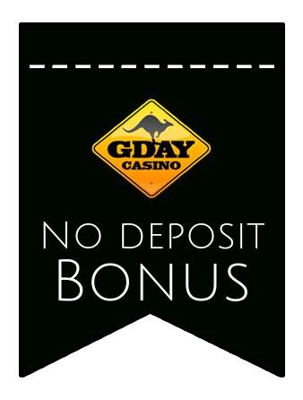 Gday Casino - no deposit bonus CR