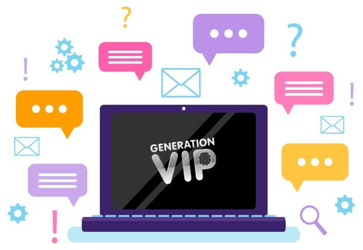GenerationVIP - Support