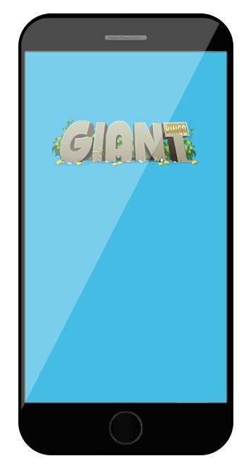 Giant Bingo - Mobile friendly