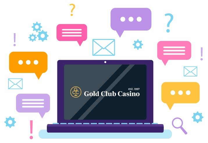 Gold Club Casino - Support