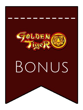 Latest bonus spins from Golden Tiger