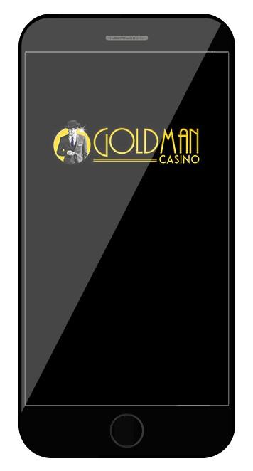 Goldman Casino - Mobile friendly