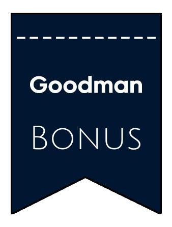 Latest bonus spins from Goodman