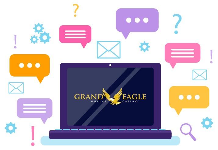 Grand Eagle Casino - Support