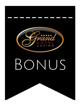 Latest bonus spins from Grand Hotel Casino