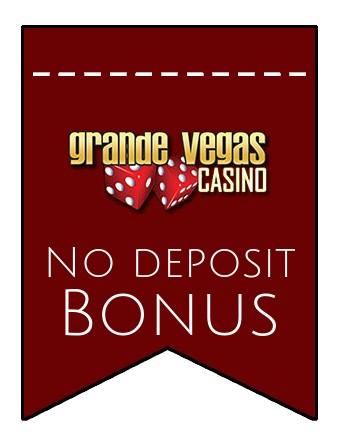 Grande Vegas Casino - no deposit bonus CR