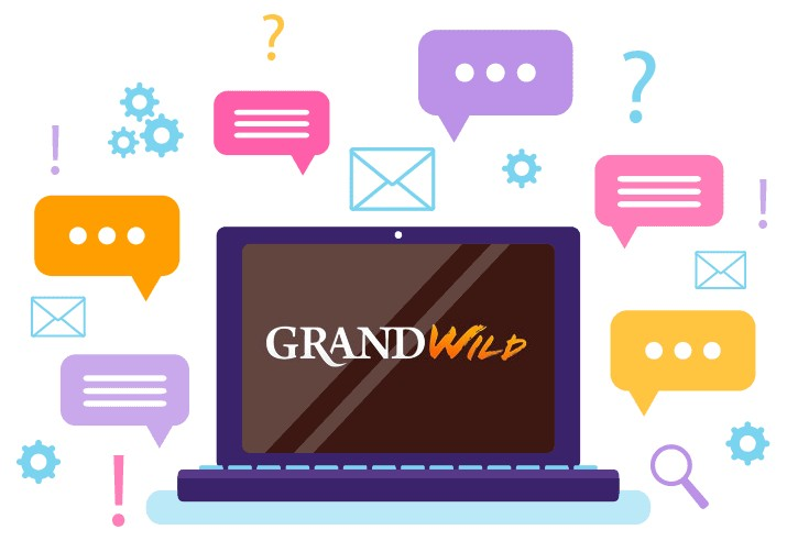 GrandWild Casino - Support