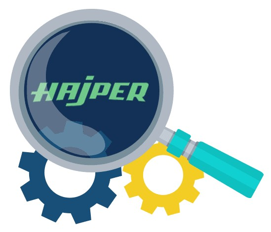 Hajper Casino - Software