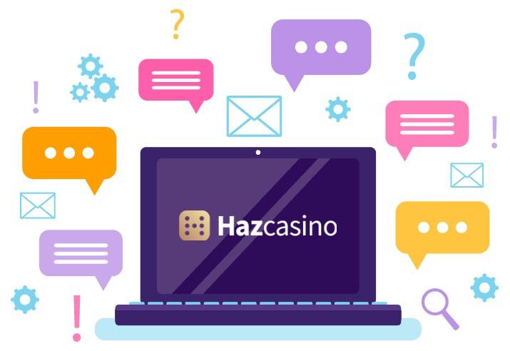 Haz Casino - Support